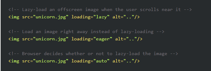 Browser/Native Lazy-Loading Coming in 2019 - MachMetrics